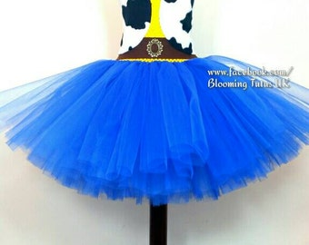 Cowboy Cowgirl Jessie Woody Inspired Tutu Dress-Birthday, Party, Photoshoot, Pageant