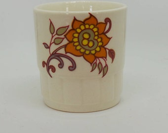 Floral China Vintage Egg Cup by Palissy England, Sixties / Seventies Design, Replacement