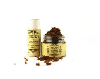 Lip Plumping Pout Balm or Scrub • ZERO WASTE • Cinnamon Bark Extract, Peppermint Oil, Vanilla • 14g/20g