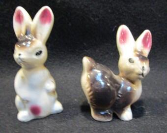 Rabbit Salt and Pepper Shakers  (1162)