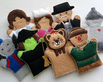 Wizard of Oz Finger Puppets *Set of 8