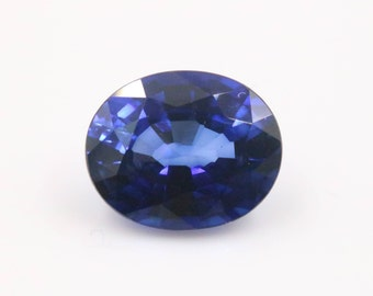 Natural Corundum Sapphire 12x10mm 6.36ct OV Loose Stone
