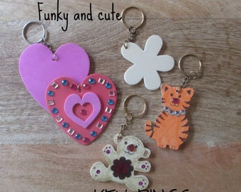 PARTY FAVOUR Bag Tag - Key Ring