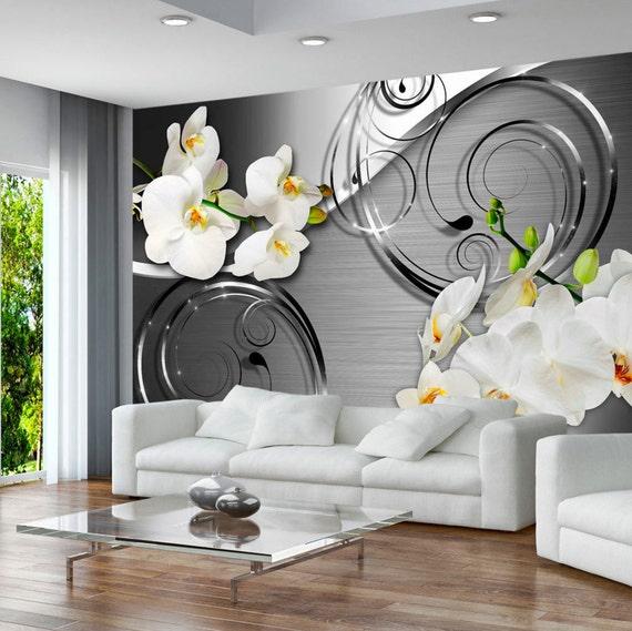 Photo papier peint murales non tiss 3d moderne art floral for Art et cuisine rm 101