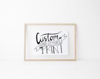 FOR LAILA - Custom print with digital file