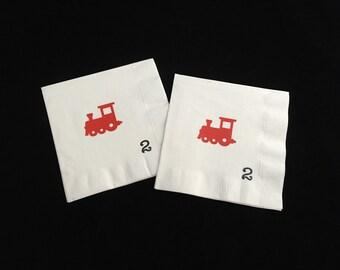 Locomotive Birthday Party - Train Birthday - Train Party - Conductor Birthday - Choo Choo Train - Train Party Supplies - Transportation Baby