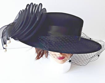 Vintage Hats, Wedding Hats, Funeral Hats, Statement Hats, Style Hats, Made in USA, Fashion Hats, Fascinator, Hats, Hats Women, Church Hats,