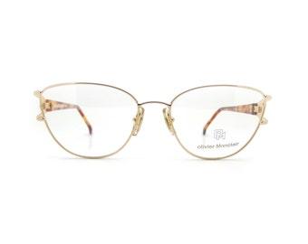 Genuine 1980s Olivier Monclair Austral OM47 Vintage Glasses // Made in France // New Old Stock