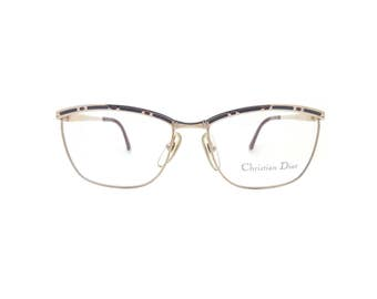 Genuine 1980s Christian Dior2720 48 Vintage Glasses // Made in Austria // New Old Stock