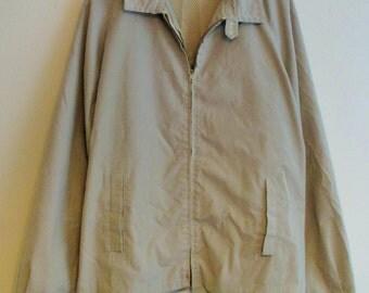 60's Tony Lema Jockey Beige Golf / Light Jacket