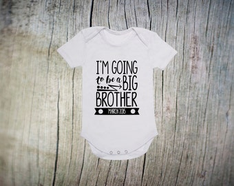 Big Brother Onesie- Big Brother Outfit - Going To Be A Big Brother - Big Brother Announcement Onesie - Big Brother Outfit - Big Bro