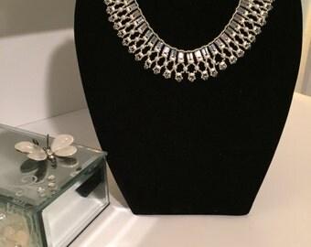 Necklace Bridal Collar Stunning White
