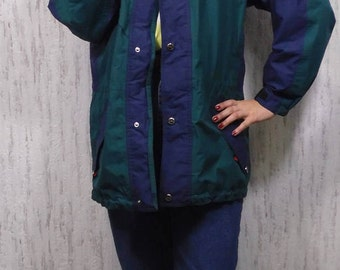 Vintage Auragger Windbreaker Shell Jacket Sports Jacket Gore tex