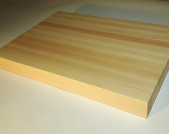 """Professional butcher block cutting board, Select hard maple 2"""" thick"""