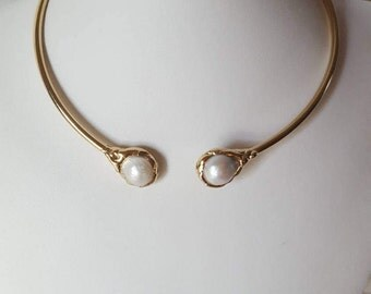Pearls choker