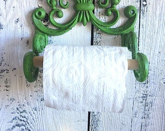 Cast Iron Toilet Paper Holder