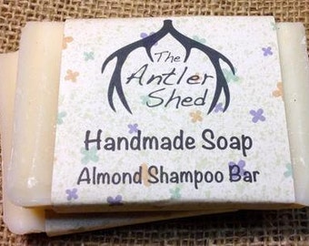 Almond Shampoo Bar