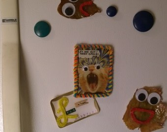Screaming Kitty Refrigerator Magnet