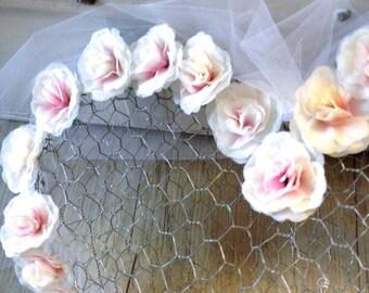 Wedding decoration heart wreath
