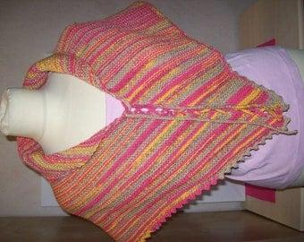 Knitted shawl / scarf