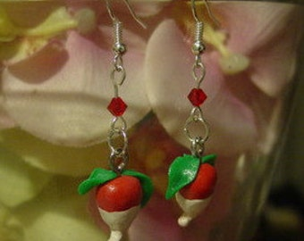 Harry Potter Luna Lovegood Radish Earrings