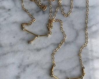Rhinestone Constellation Necklace