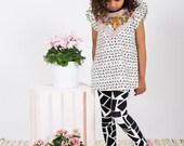 Fox print dress toddler girls Supayana SS2017