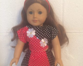 "skirt #3 Doll clothes 18"" doll like the American girl skirt"