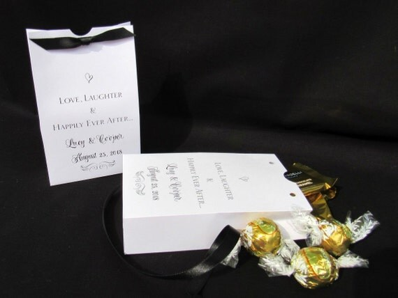 Wedding Favor Box - Candy Favor Boxes - Favor Box - Personalized Favor Box