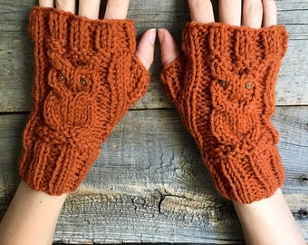 Fingerless Gloves Arm Warmers Fingerless Mittens Texting Gloves Knit Gloves Gift for Girlfriend Holiday Accessories