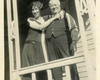 "Vintage Photo ""Forever Daddy's Pride"" Snapshot Antique Photo Old Black & White Photograph Found Paper Ephemera Vernacular - 79"