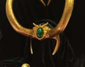 Lady Loki Avengers Academy Headpiece and Hair Ornaments - Made to Order