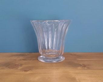 Antique Glass Tea Caddy Bowl c1810