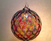Blown Glass Christmas Tree Ornament