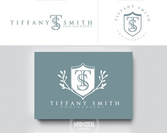 initials monogram logo luxury  branding initials businesscards simple modern feminine - logo Identity lawyer makeup and wedding photographer