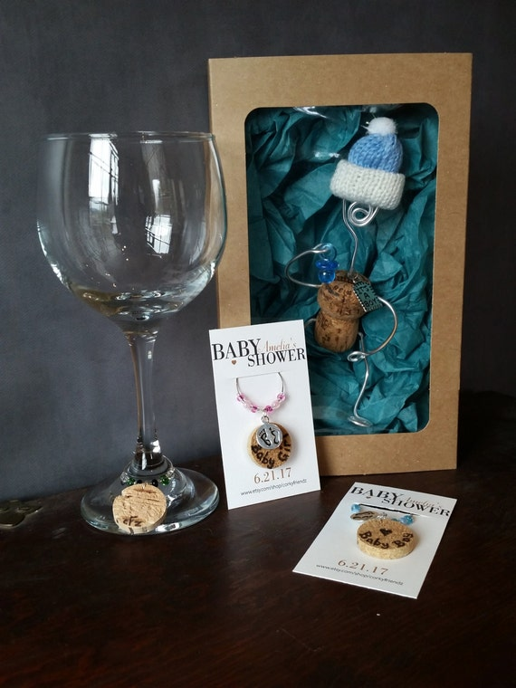Wine cork baby shower gift set new mom gift personalized baby il570xn negle Image collections