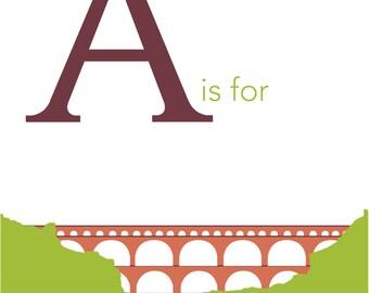 Roman Alphabet Etsy