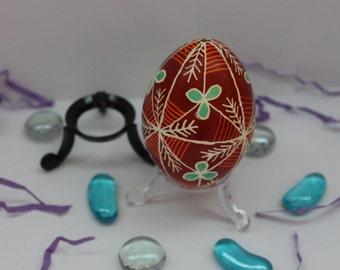 Bronze Pysanky Egg