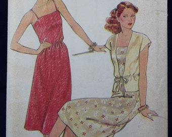 Sewing Pattern for a Woman's Dress and Jacket in Sizes 8-12 - New Look 6179