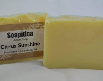 Soap - Citrus Sunshine Essential Oil Blend
