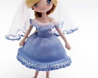 Crochet Doll Pattern - Hathaway 海瑟薇 The Ocean Star