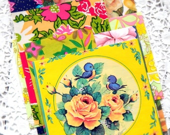 Vintage Floral Gift Wrap Ephemera Pack. Flower Gift Wrap. Wrapping Paper Sheets. Journal Supply. Ephemera Collage. Junk Journals. Paper Pack