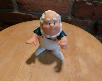 Vintage 1984 Care Bears Cloud Keeper Pvc Poseable Toy ,1980's toy