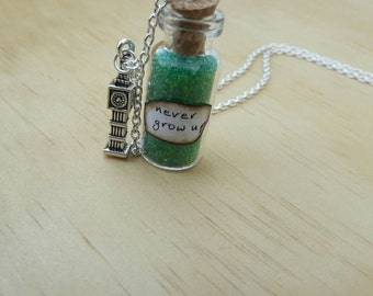 Never Grow Up Necklace