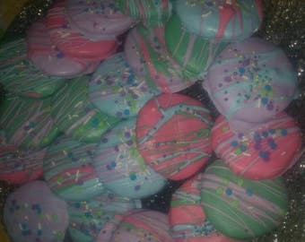 Vegan Easter sugar cookies.