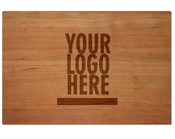 Personalized Corporate Gift Ideas for Christmas - Cutting Board with Logo - Gift for Employees - Gift for Boss - Client Gift Idea SHIPS FAST