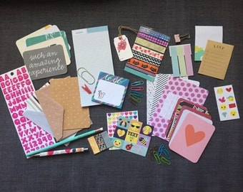 Grab Bag: Planner Goodies, Stationary, Project Life Cards, Washi Tape, Target One Spot Items and MORE!