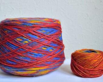 Italian alpaca chunky wool yarns, 50g / 1,76 oz balls