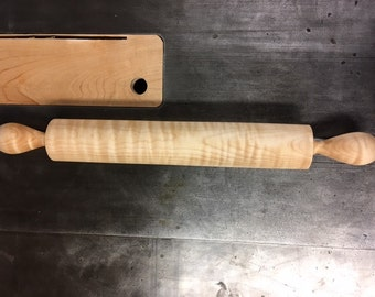 Tiger Maple Rolling Pin