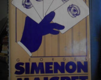 Maigret Afraid by Georges Simenon Hardcover and Dust Jacket 1961